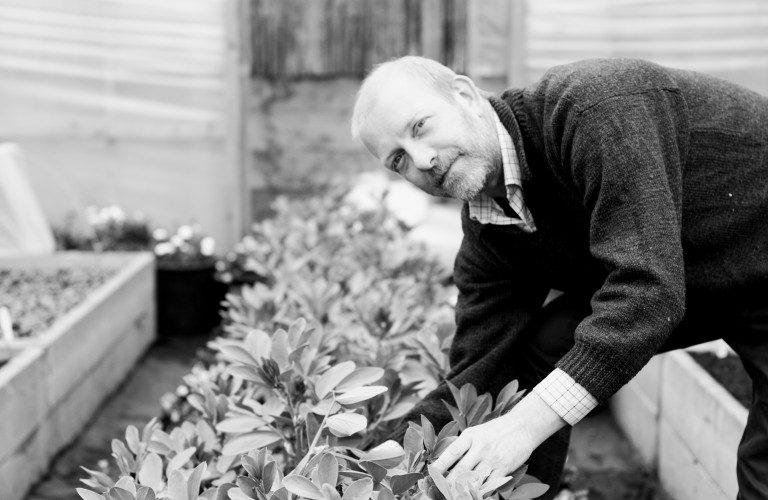 Charles Munro, Head Gardener at The Forest Side Hotel & Restaurant in Grasmere
