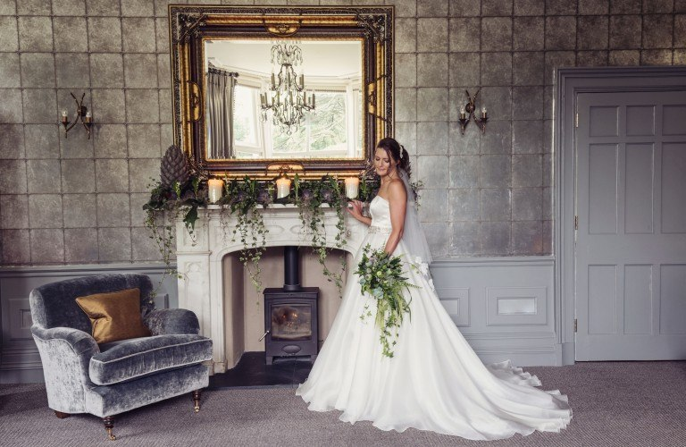 Beautiful Wedding Interiors at The Forest Hotel in the Lake District