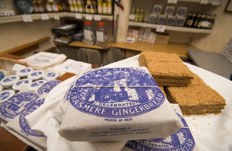 Visit Grasmere Gingerbread near the Forest Side Hotel