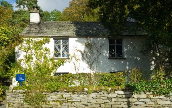Dove Cottage in Grasmere, Lake District